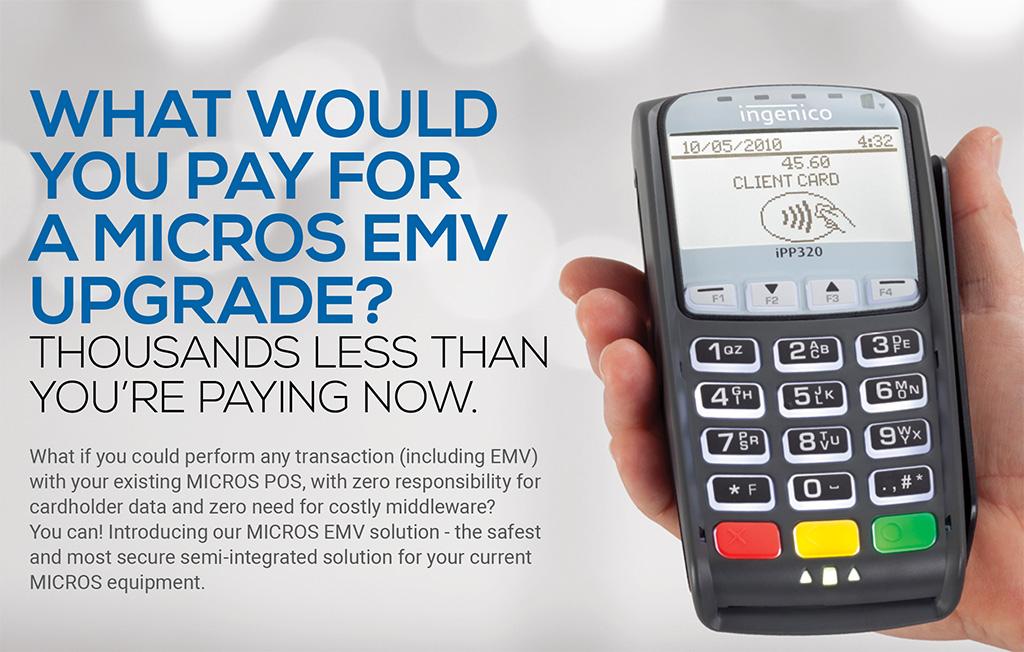 Micros POS EMV Solution