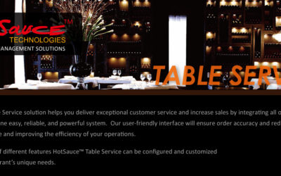 Hot Sauce Table Service